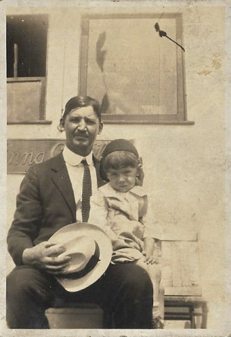 Charles and Abe Faulkner in Chicago, ca 1930