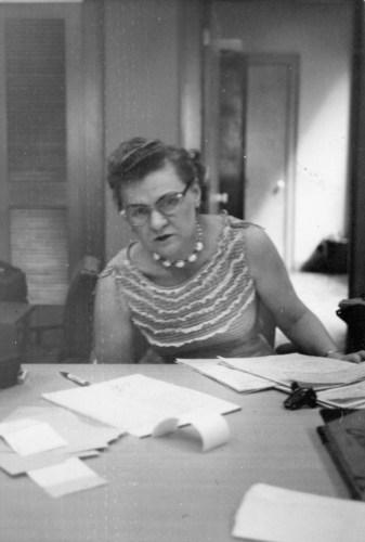 Hazel Bradshaw, ca. 1960s.