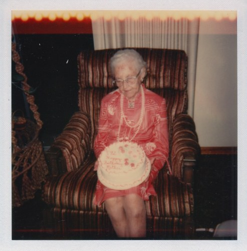 Myrtle Hooper Phillis' 92nd birthday Party, 9 Sept 1978.