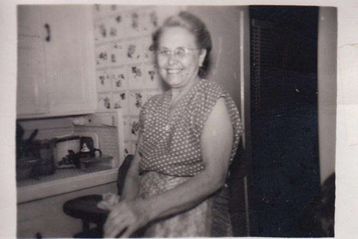 Myrtle Hooper Phillis, ca. 1950s, Independence, Kansas