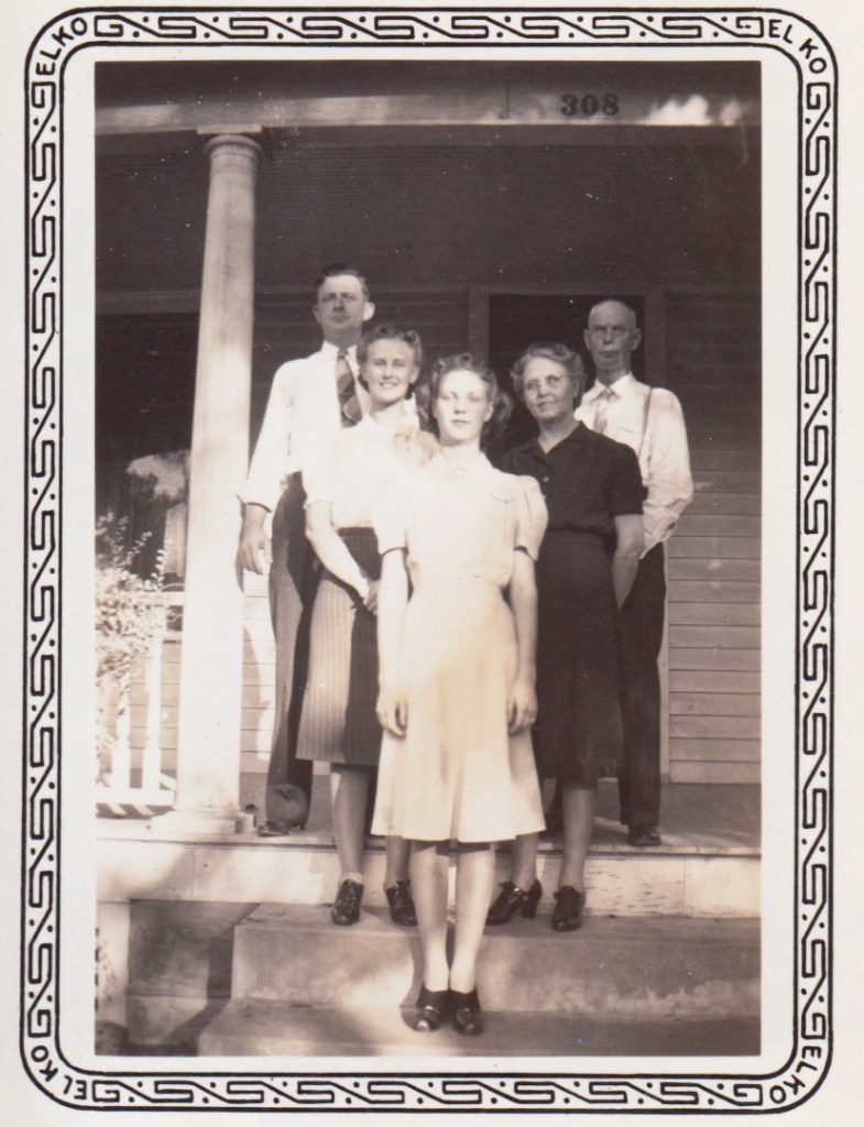 Phillis family, at 308 N. 9th St, Independence