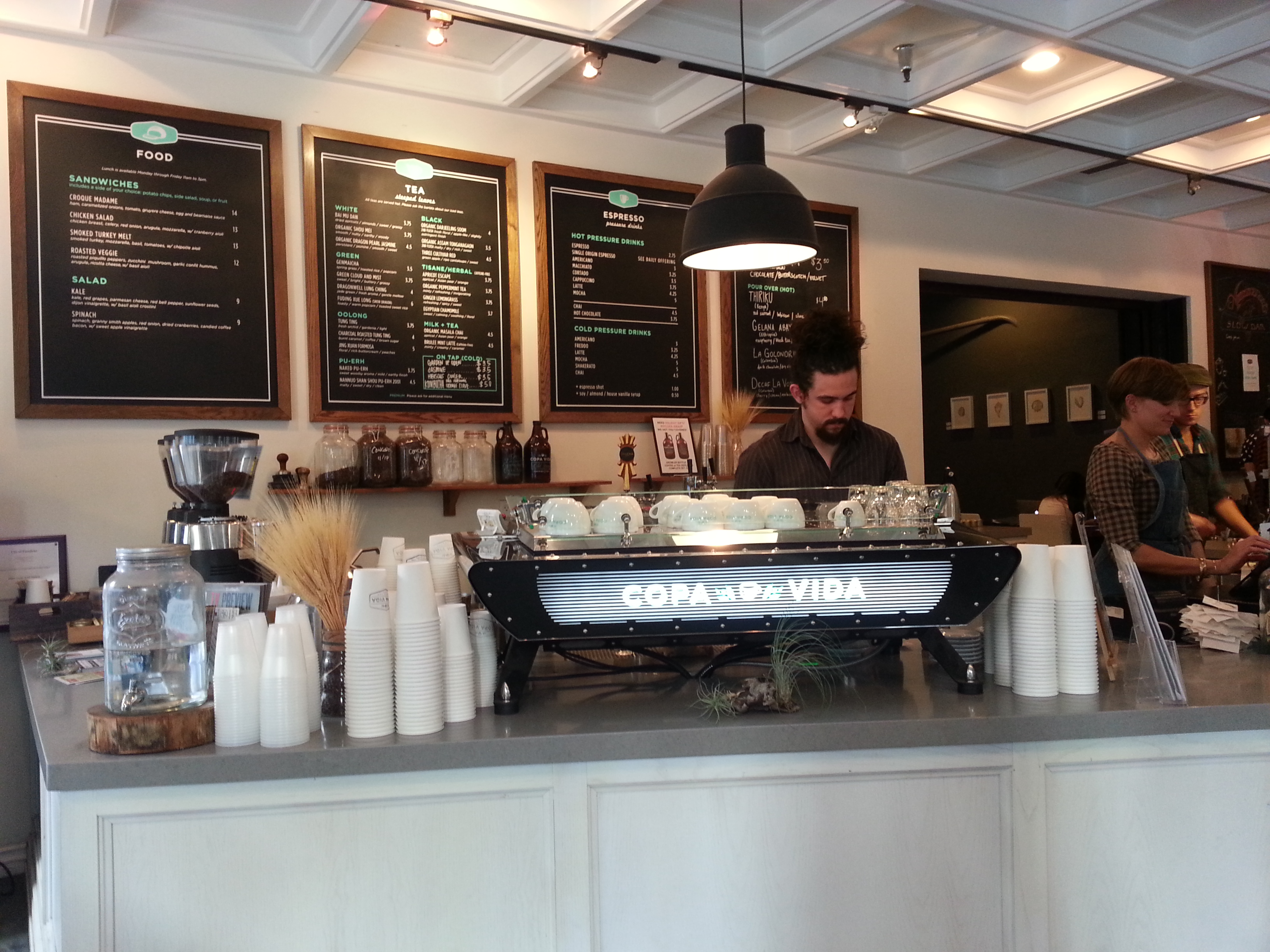 coolandcaffeinated  coffee and cool coffee spaces