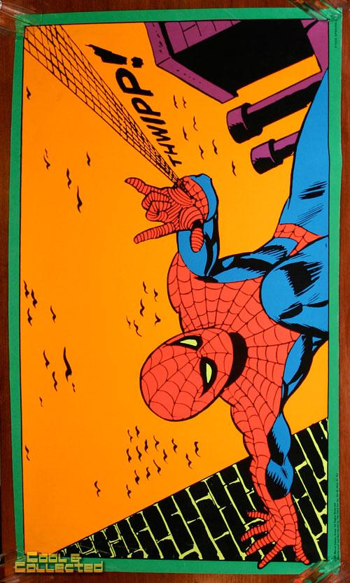 Marvel Third Eye Blacklight Posters