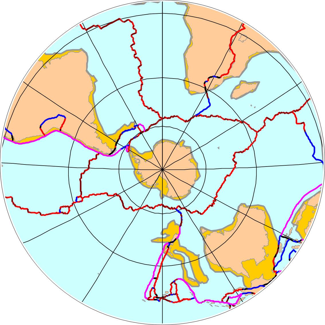 A Geological Timeline Of Antarctica