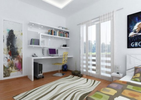 Modern Teen Bedroom Designs with Integrated Study Room Modifications4