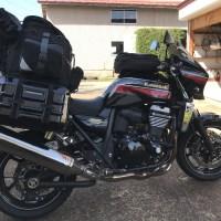 ツアーシェルケース2,バイクのサイドバックを購入レビュー,つけ方,容量,防水