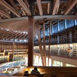 国際教養大学 中嶋記念図書館へツーリング 世界が絶賛する図書館