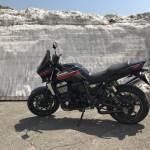 八幡平アスピーテラインへバイクツーリング 絶景と桜と雪の回廊