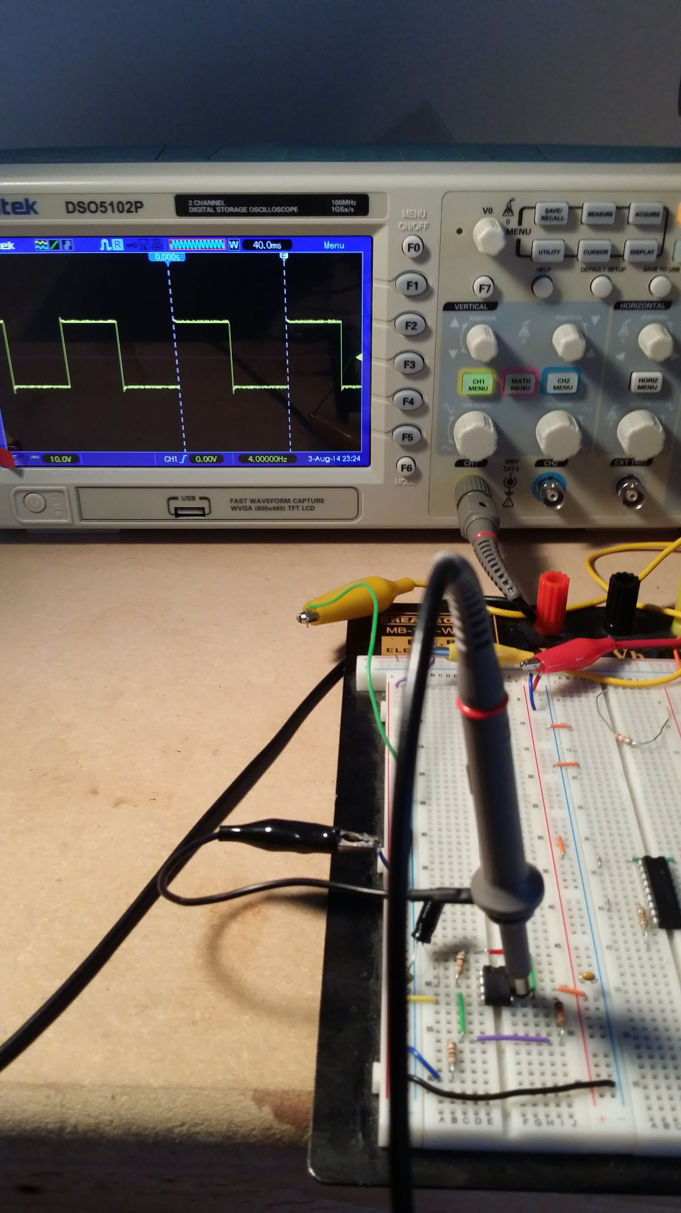 Op Amp Problem With A Relaxation Oscillator Using Op Amp