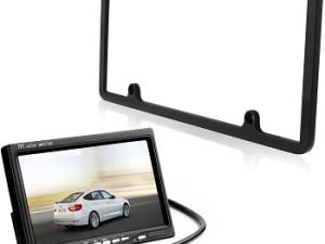 Vehicle Backup Cameras - TaoTronics Car License Plate Frame Rear View