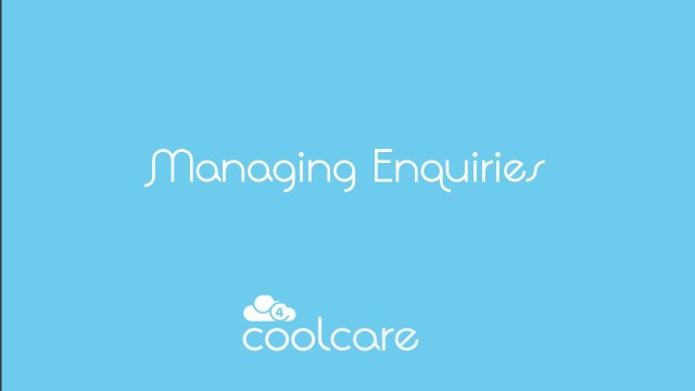 Managing Care Home Enquiries