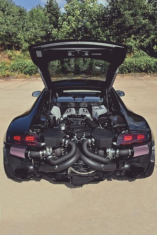 Audi R8 Matte Black Price : matte, black, price, Twin-Turbo, Black, Carbone., Makes, Sense, Don't, Understand, Engines