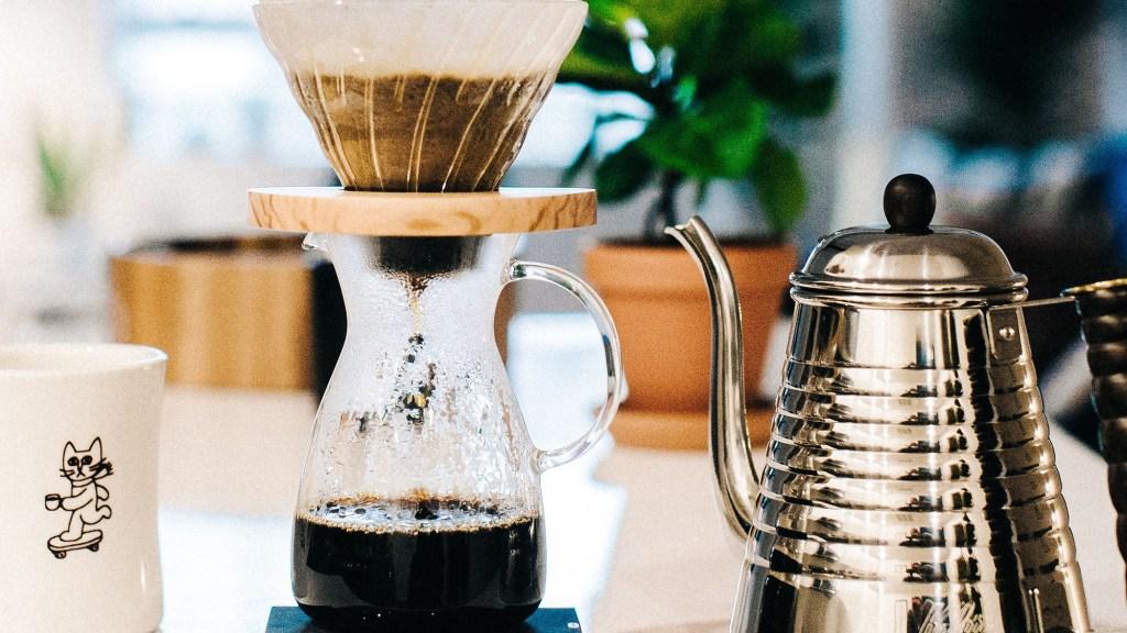 brew coffee with milk