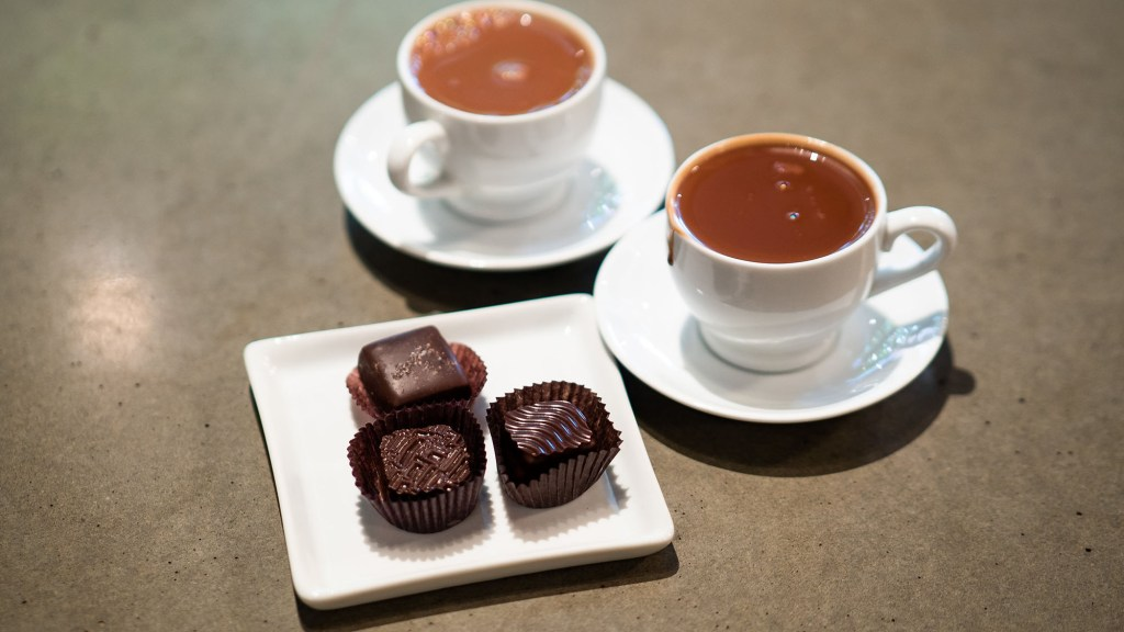 best chocolate to eat with coffee