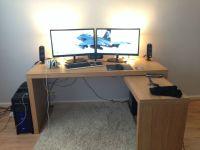 Ikea Desk Gaming Setup - Hostgarcia