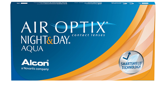 AIR OPTIX NIGHT DAY AQUA - Air Optix Night & Day Aqua