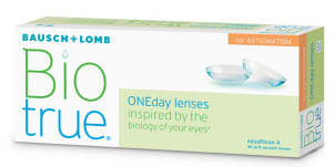 BIOTRUE ONE DAY FOR ASTIGMATISM 300x151 - Focus Dailies All Day Comfort (90 lenses/box)