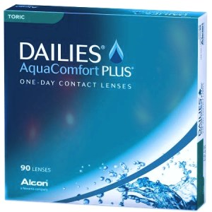 DAILIES AQUA COMFORT PLUS TORIC 90 - Dailies Aqua Comfort Plus Toric (90 lenses/box)