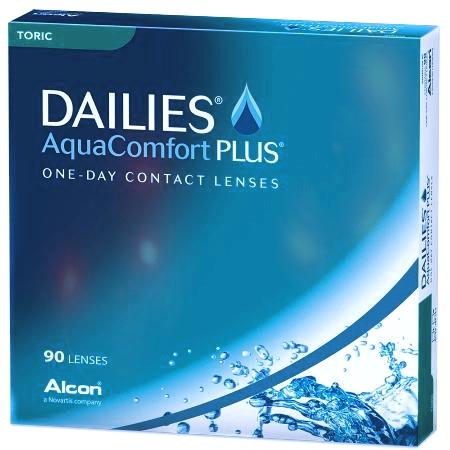 DAILIES AQUA COMFORT PLUS TORIC 90 - Dailies Aqua Comfort Plus Toric (90 lenses/box)