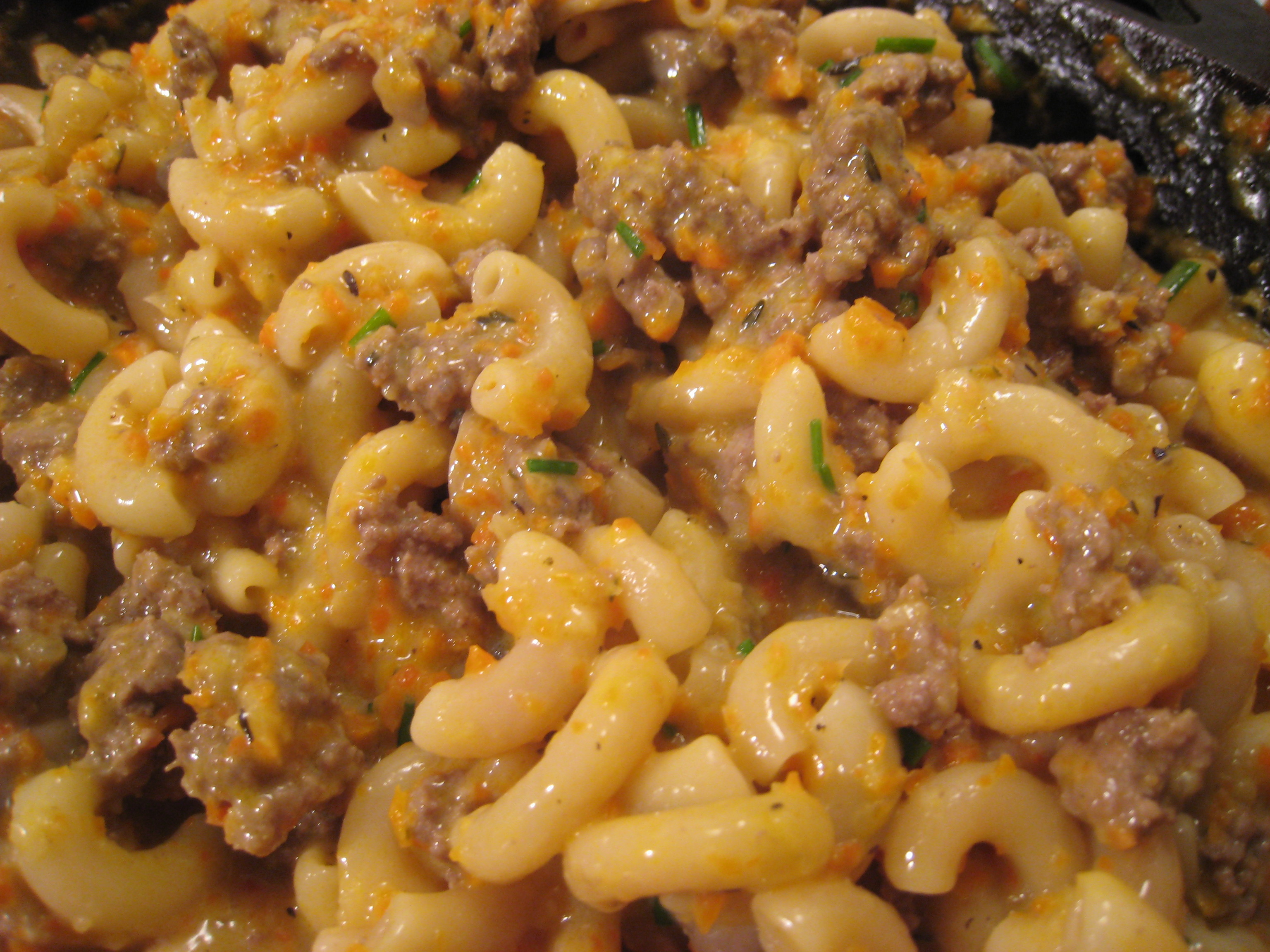 hamburger and macaroni recipes dishmaps