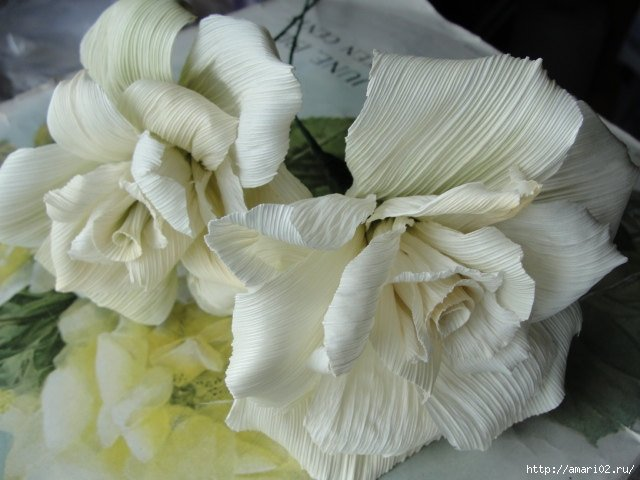 How to DIY Beautiful Corn Husk Flowers