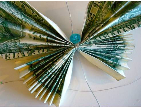 How to Make Butterflies with Money Bills