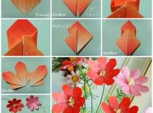 How to Make Pretty Paper Craft Origami Daisy Flower