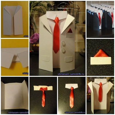 How to DIY Handmade MenSuit Invitation Cards