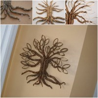 Cool Creativity  DIY Toilet Paper Roll Twisted Oak Tree ...