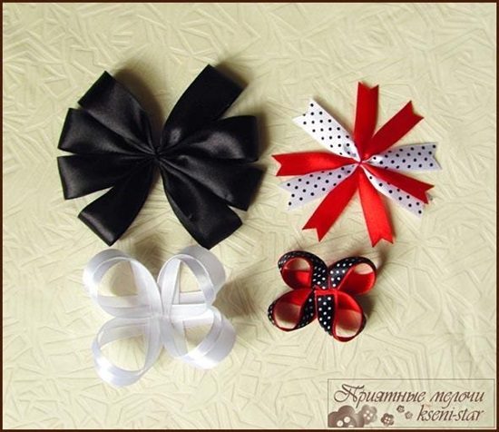 DIY Beautiful Satin Ribbon Hair Clip