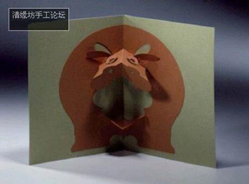 DIY 3D Kirigami Pop Up Greeting Cards Amp Free Templates