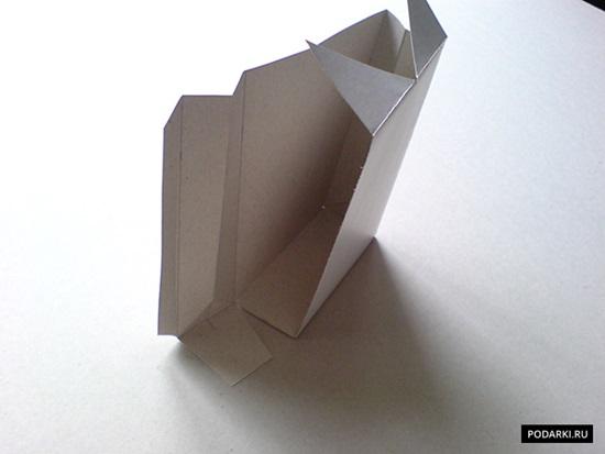 DIY Folded Paper Gift Bag for Men