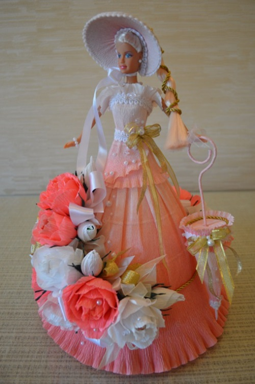 Barbie Chocolate Bouquet You Can Make for Next Birthday