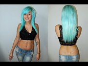 dye hair kool-aid