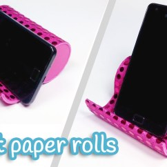 Ipad Stand For Chair Leather Butterfly Cover Diy Phone Holder From Toilet Paper Rolls