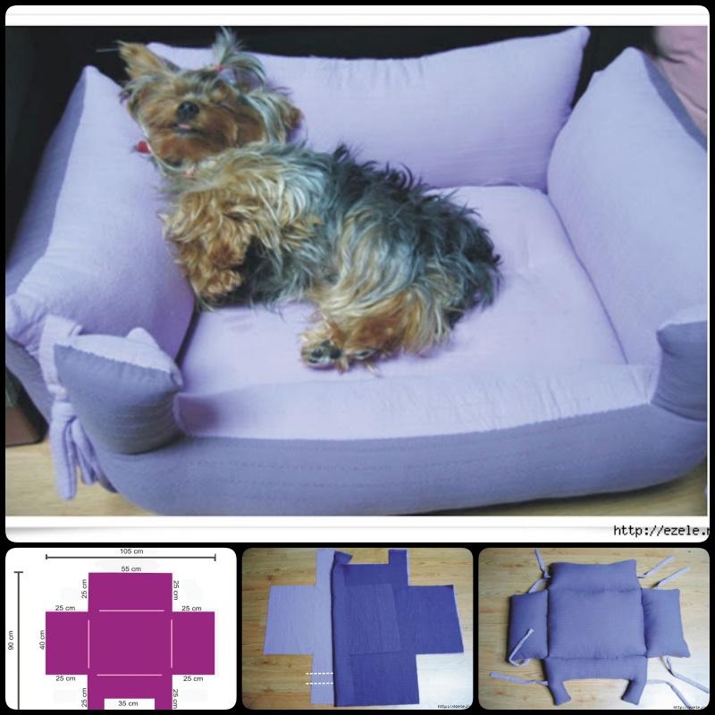 20 Adorable DIY Pet Bed Ideas