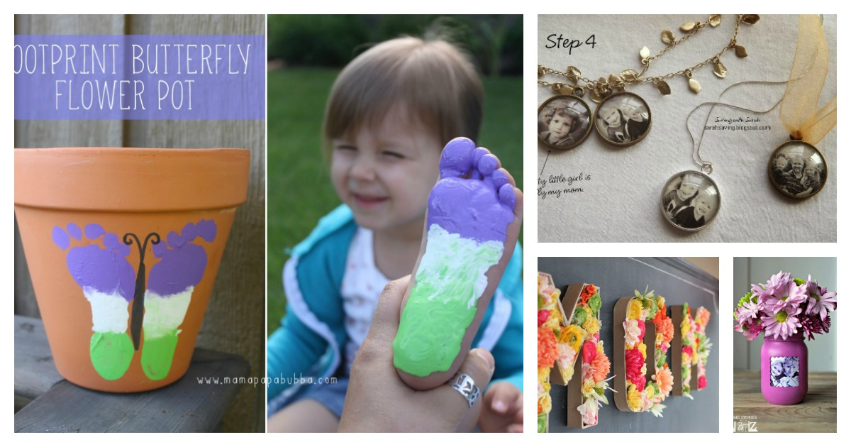 20 DIY Mothers Day Craft Project Ideas Page 2 Of 4
