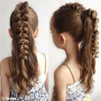20+ Fancy Little Girl Braids Hairstyle - Page 3 of 3