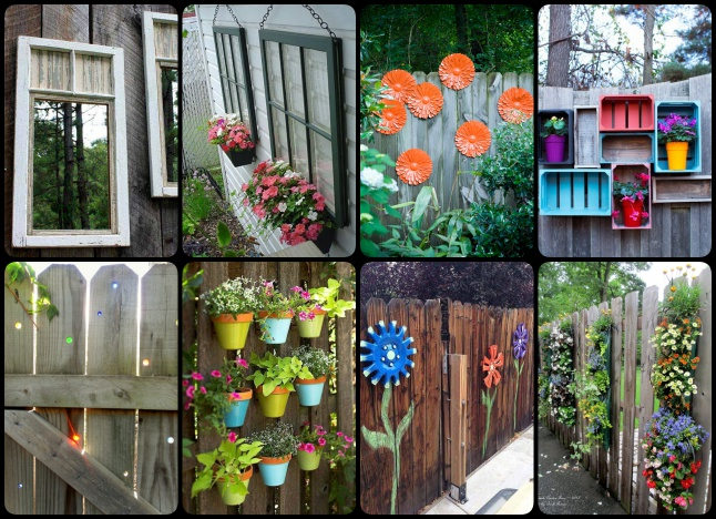 30 Cool Garden Fence Decoration Ideas  Page 4 of 5