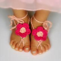Awesome Crochet Barefoot Sandals Patterns - Of
