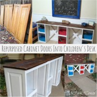 DIY Repurposed Cabinet Doors Ideas - Simple Yet Creative