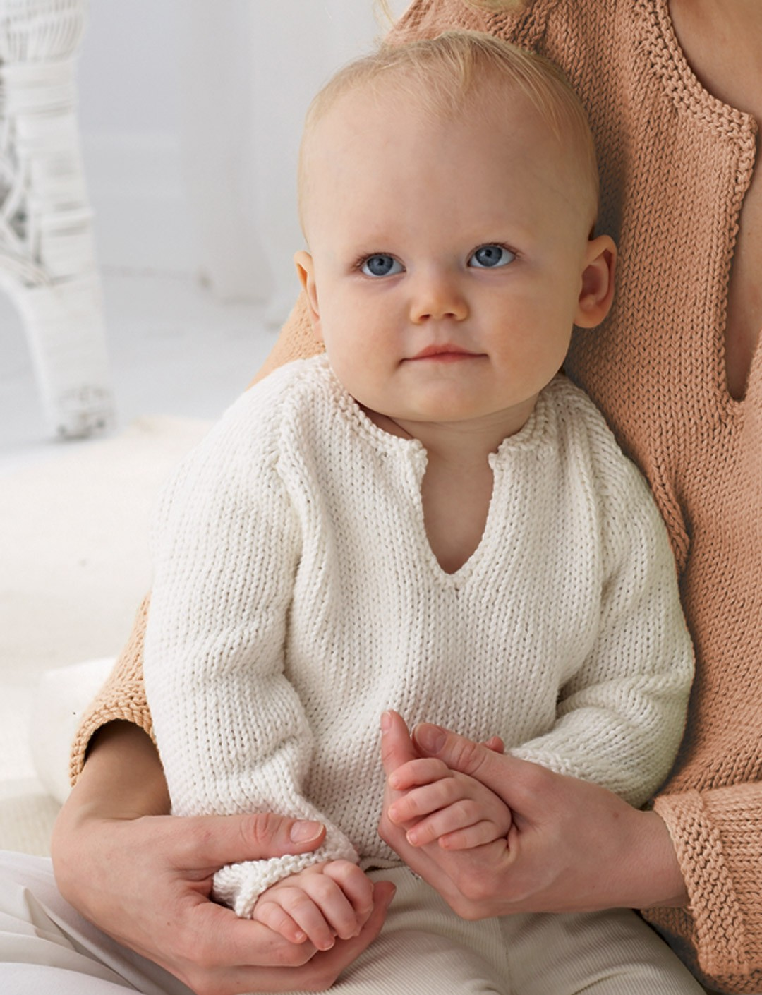 10 Free Baby Sweater Knitting Patterns