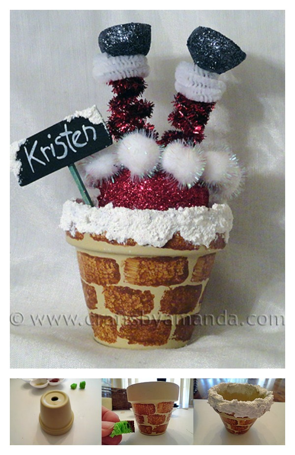 10 Creative Clay Pot Christmas Craft Ideas Page 2 Of 2