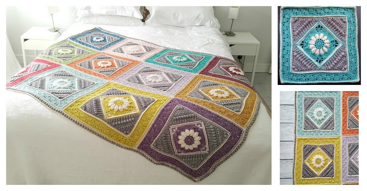 Charlottes Dream Blanket Free Crochet Pattern