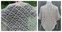Skull Shawl Free Crochet Pattern for Halloween Party