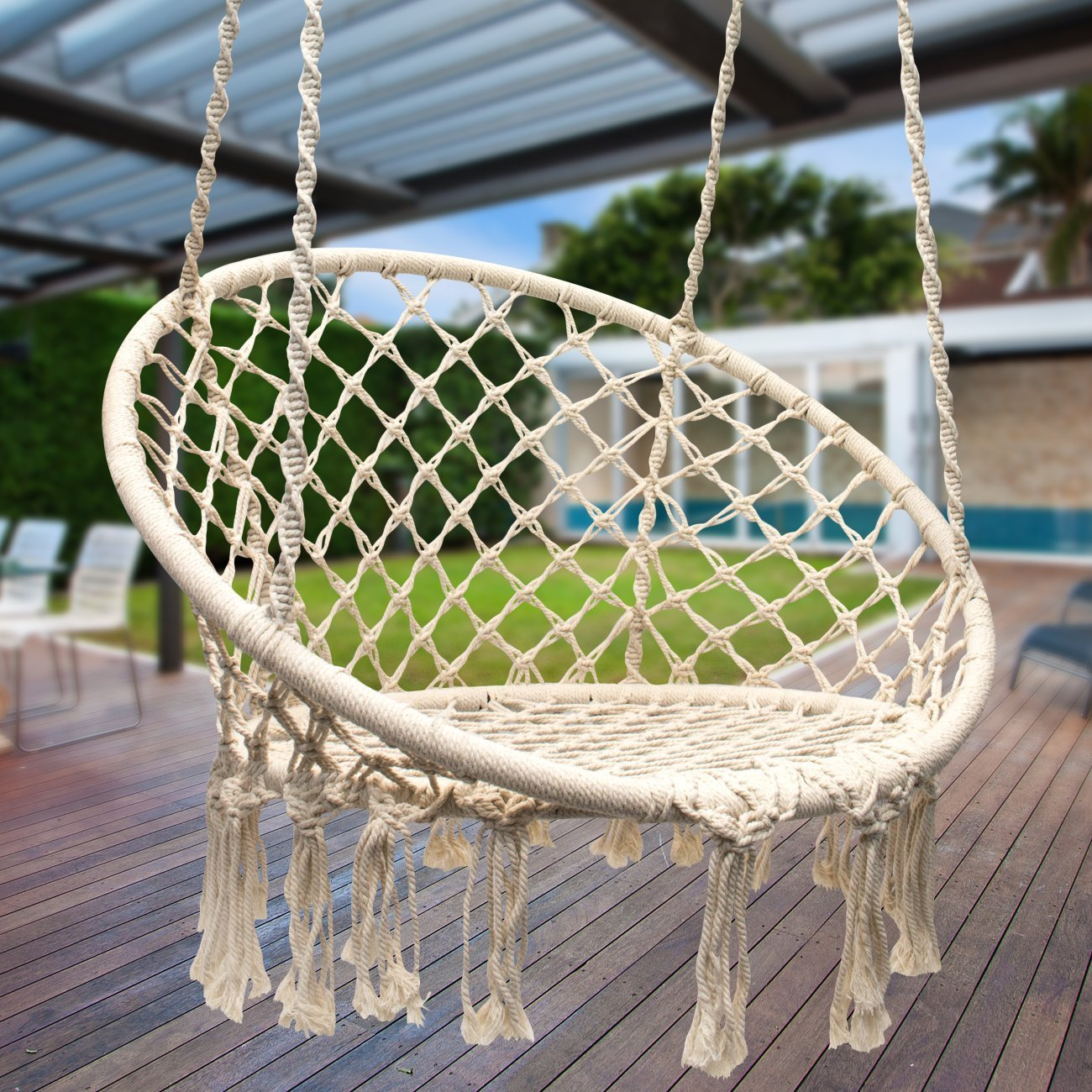 How To Make A Hammock Chair Diy Hanging Macrame Chair