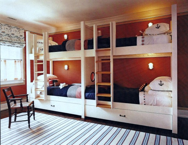Beach House Bunk Bed Room