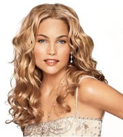 blonde cool curly hair page