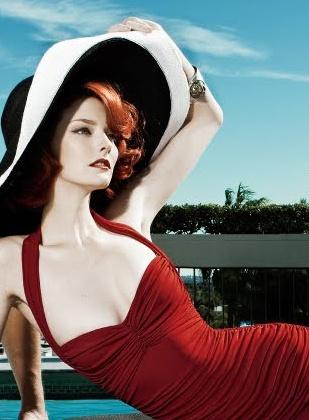 Beautiful!!! Model Lydia Hearst PhotographersSteven Gomillion & Dennis Leupold