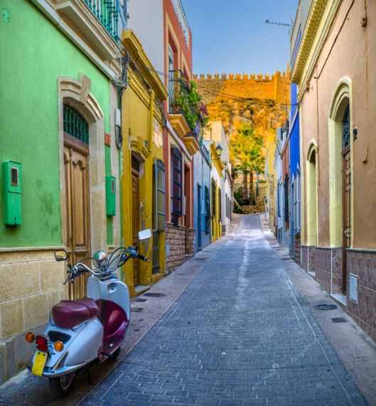 colorful street